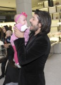 Diego Luna & daughter Fiona