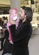 Diego Luna & daughter Fiona