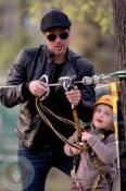 Brad Pitt and Shiloh