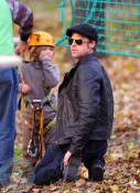 Brad Pitt and daughter Shiloh