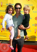 Mark Fuerstein with his kids
