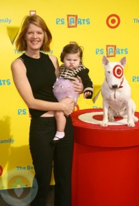 MIchelle Stafford and daughter