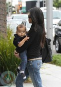 Kourtney Kardashian with son Mason