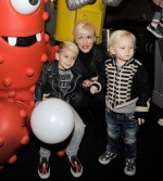 Gwen Stefani with sons Kingston and Zuma Rossdale