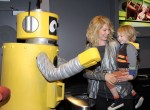 Jenna Elfman and son Story Elias Elfman