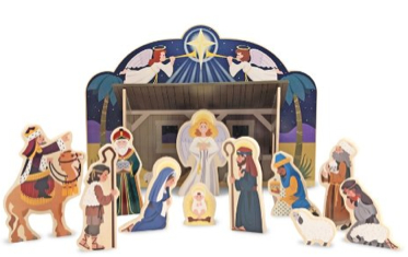 Melissa And Doug Nativity Set Growing Your Baby