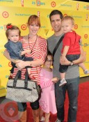 Molly Ringwald with Family