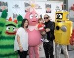 Taboo and wife Jaymie Dizon with son Jimmy Gomez