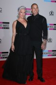 Pink & husband Carey Hart arriving @ American Music Awards