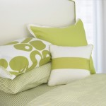 berries duvet green pillows