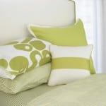 berries duvet green pillows