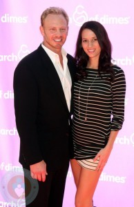 Ian Ziering with expectant wife Erin