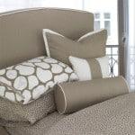 cobblestone duvet taupe pillows
