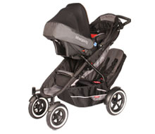 hammer head with infant seat and doubles kit