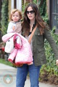 Jennifer Garner and daughter Seraphina