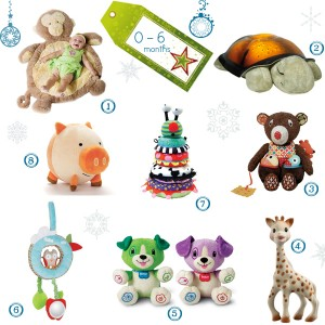 8 gift ideas for little ones 0-6 Months