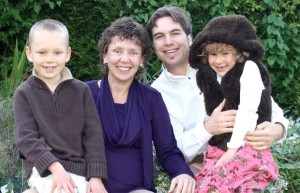 The Shears family: Jack, Becca, Kyle and Charlie