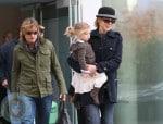 Keith Urban and Nicole Kidman with daughter Sunday Rose