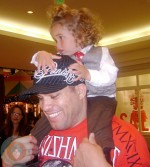 Tito Ortiz with his son