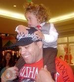 Tito Ortiz with his son