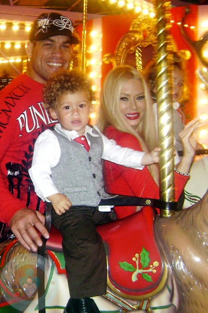 Auto Expo Of Huntington >> Tito Ortiz and Jenna Jameson with one of their twin sons