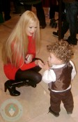 Jenna Jameson with one of her twin sons