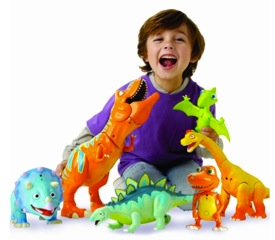 Kid Tested: Dinosaur Train InterAction Collection