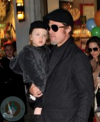 Brad Pitt and son Knox