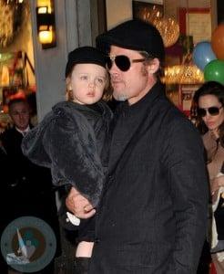 Brad Pitt and son Knox