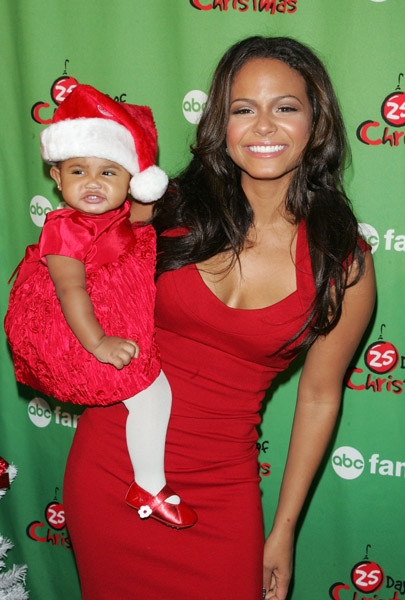 Christina Milian And Daughter Violet Nash Growing Your Baby