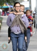 Jennifer Garner & Daughters Seraphina & Violet