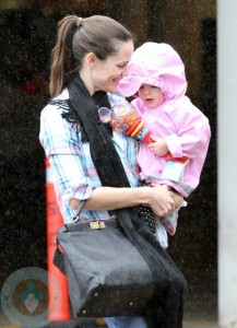 Jennifer Garner with daughter Seraphina