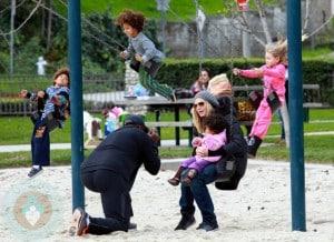 Seal & Heidi Klum and their 4 kids