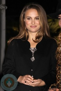 Natalie Portman At DIOR Store re-opening
