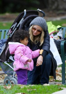 Heidi Klum with daughter Lou