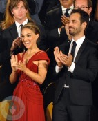 Nathalie Portman, Benjamin Millepied and Vincent Cassel attend the opening ceremony of the 67th Venice International Film Festival