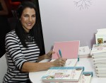 Jessica Seinfeld signs her new book Double Delicious