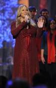Mariah Carey performing At White House Christmas Special