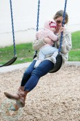 Rebecca Gayheart plays At The Park with Billie