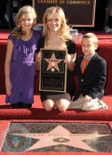 Reese Witherspoon with kids Ava and Deacon