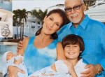Celine with Eddy & Nelson & Family