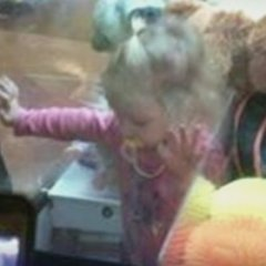 Two Year Old Girl Crawls Inside Vending Machine