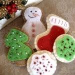 Felt Christmas Cookies Set - Holiday Sprinkles