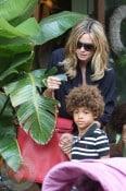 Heidi Klum with son Henry