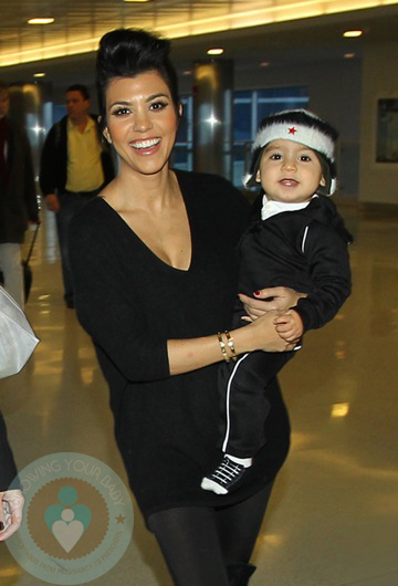 Kourtney Kardashian and Mason Dash Disick