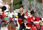 Mariah Carey performing at Walt Disney World