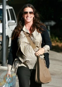 Alanis Morissette Is All Smiles in LA! Growing Your Baby