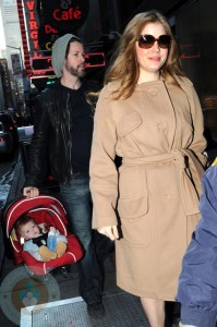 Amy Adams with Darren & Aviana Olea Legallo
