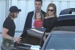 Nicole Kidman and husband Keith Urban with daughter Sunday