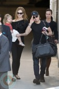 Nicole Kidman and husband Keith Urban with daughter Sunday